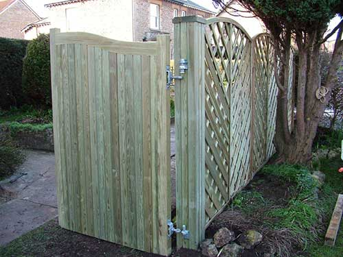 Heavy duty drive gates